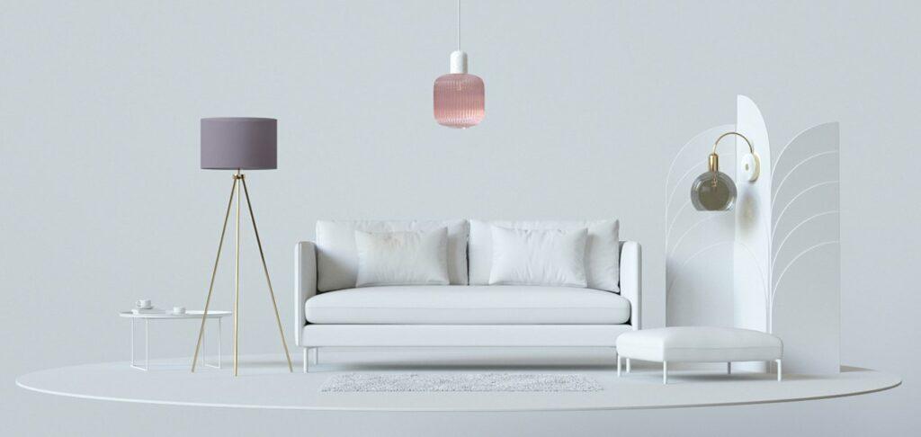 3D boutique furniture design