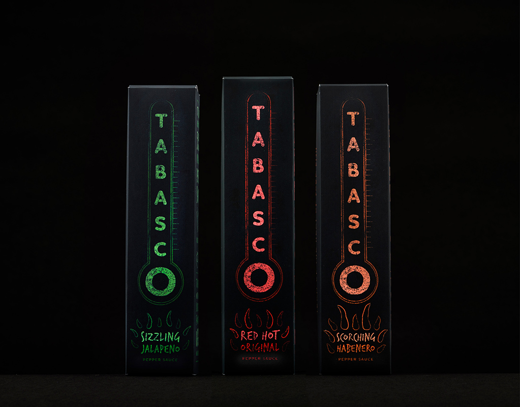 Tabasco Packaging Redesign by Mark Byford