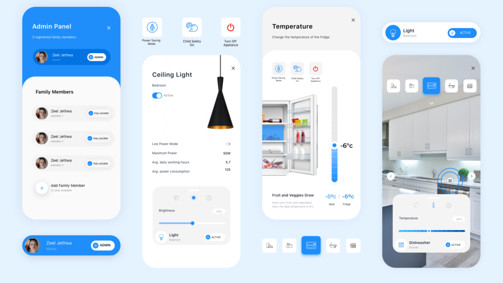 Homesy App Design by Zeel Jethwwa
